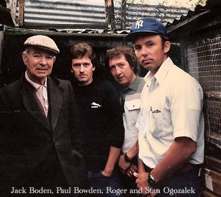 Jack Boden, Paul Bowden, Roger and Stan Ogozalek  - Handsworth