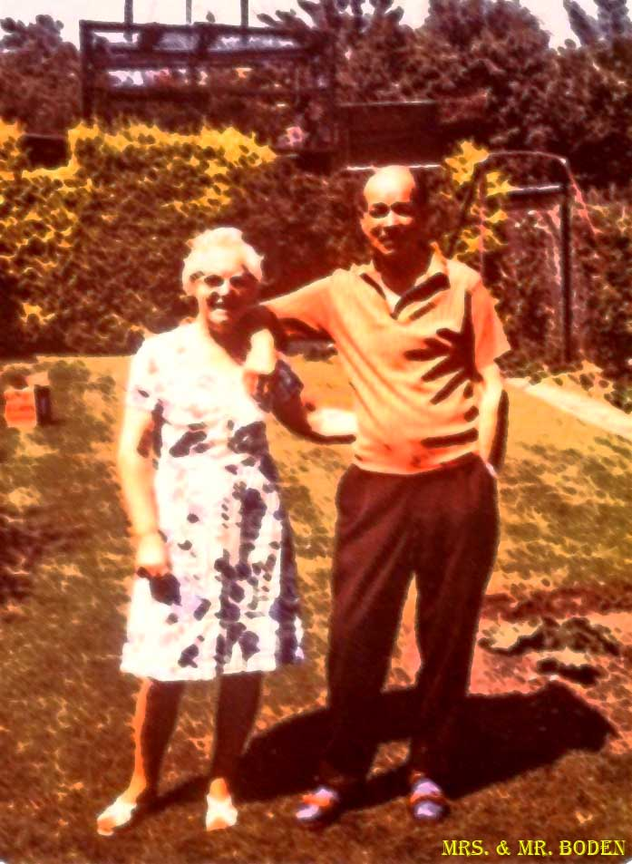 Mrs. and Mr. Jack Boden - Hansdworth